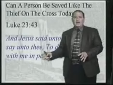Thief-On-The-Cross-Salvation? Sinner's Prayer Salvation?